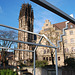 Duisburg church and city hall