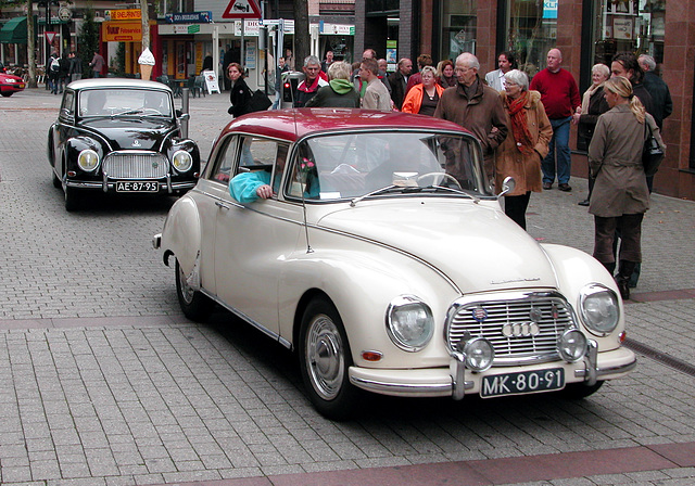 Oldtimer day in Emmen: 1963 Auto Union 1000 Super & 1959 DKW 3-6 Saxomat