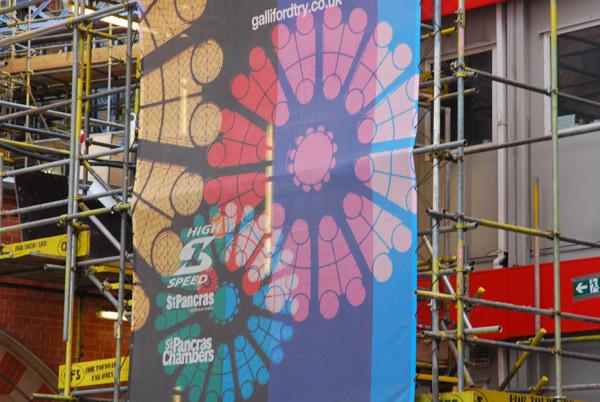 St Pancras building works