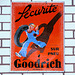 Ford museum: advertisement for Goodrich tyres