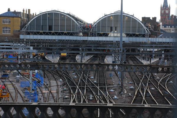King's Cross tracks
