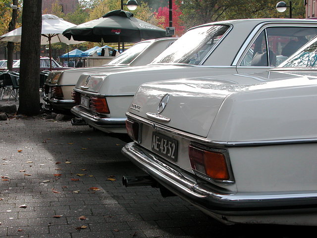 Oldtimer day in Emmen: Mercedes