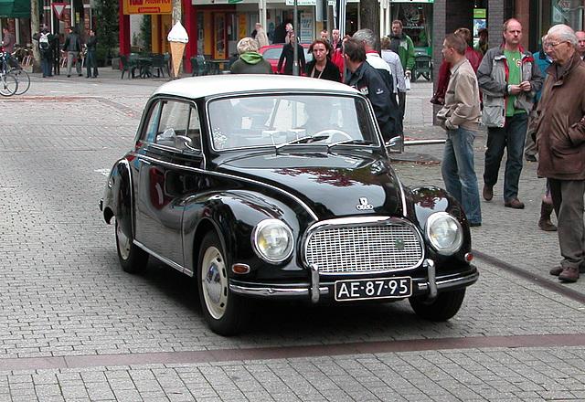 Oldtimer day in Emmen: 1959 DKW 3-6 Saxomat