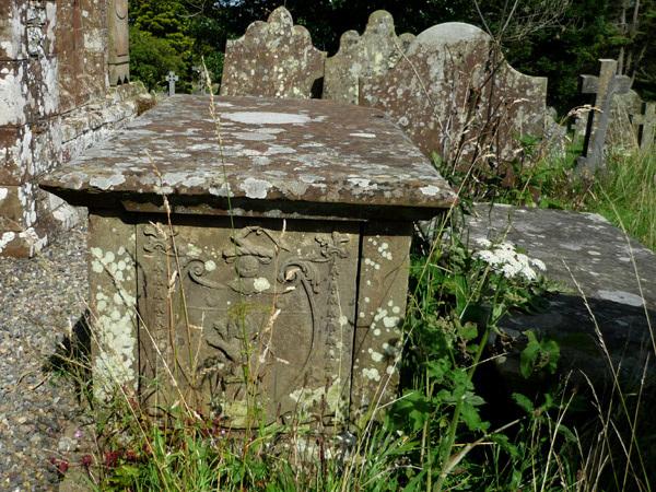 Bowness churchyard
