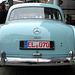Oldtimer day in Emmen: Mercedes 190