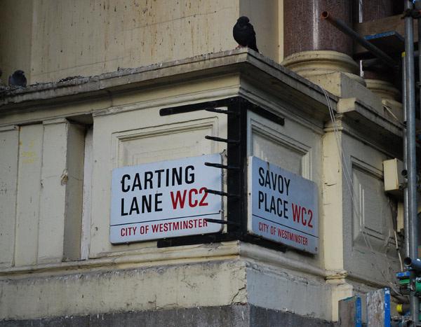 Carting Lane | Savoy Place WC2