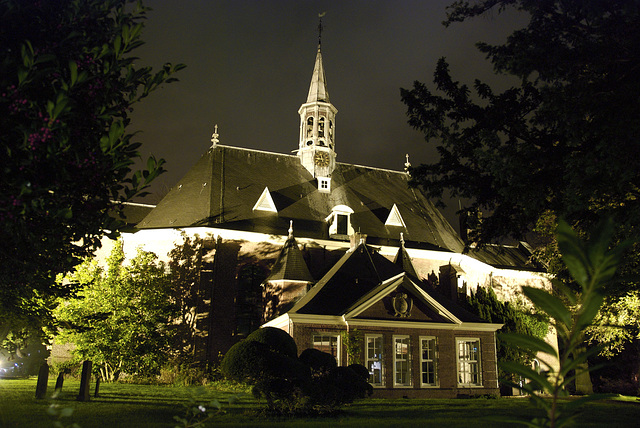 The protestant church of Bloemendaal