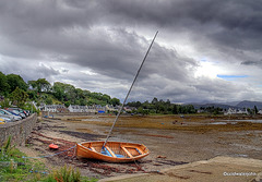 Low tide at Plockton - July afternoon