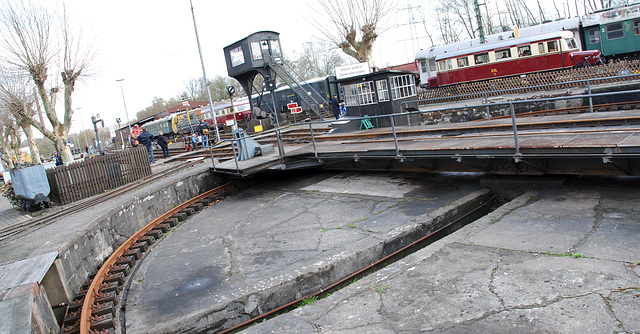 Turntable at Bochum-Dahlhausen