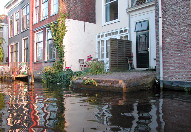 Boating in Leiden: Houses with access to the water