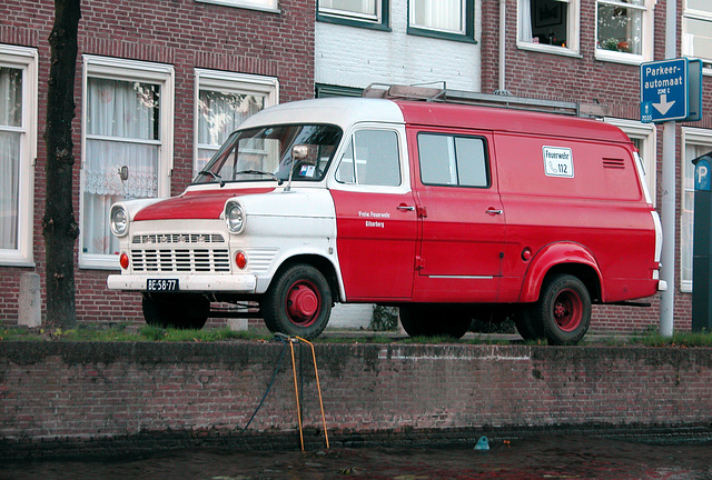 Boating in Leiden: 1969 Ford Transit