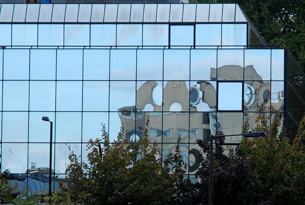 South Bank reflection
