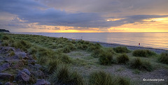 Sunset over the Moray Firth at Findhorn 3754570029 o