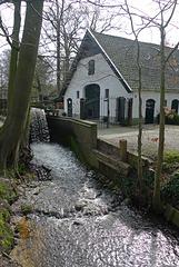 Nederland - Staverden, watermolen