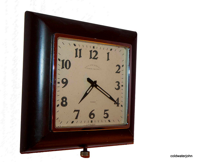 ipernity Art Deco wall clock 1920 West End Watch Company Bombay