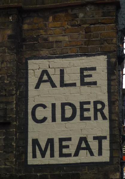 Ale Cider Meat