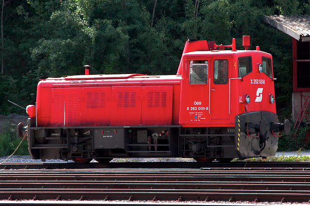 Holiday day 2: Locomotives of the Austrian Railways