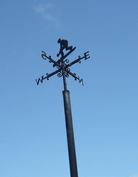 Weather vane, Port Carlisle