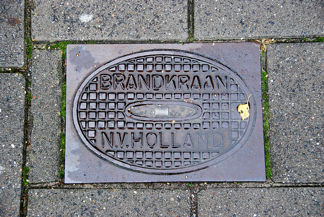Fire hydrant of the N.V. Holland – Bergen op Zoom