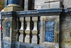 Marble pilars
