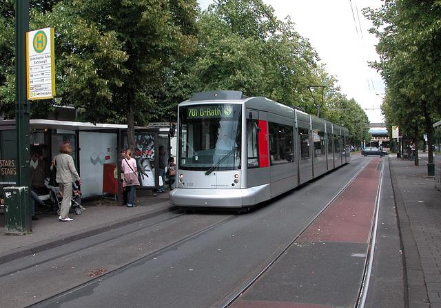 New tram in Düsseldorf (Germany)
