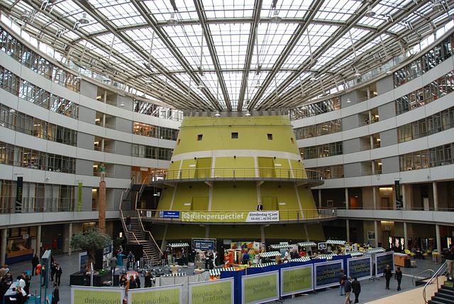 I had a study day at the Hague Polytechnic