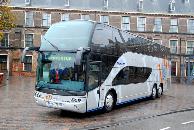 Scania bus from Spain