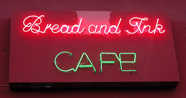 Signs on Hawthorne Boulevard (Portland, Oregon)