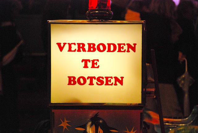Leiden's Relief festivities: Do not bump