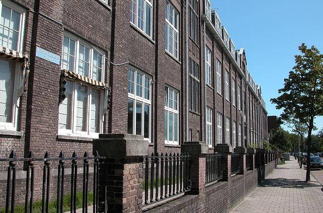 School in the Meester Cornelis Street in Haarlem