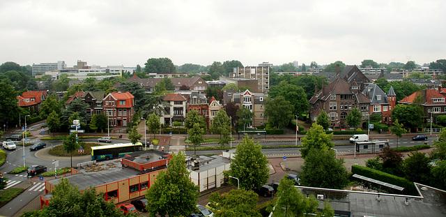 Part of the Rijnsburgerweg in Leiden