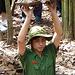 Demonstrating Viet Cong Concealment Techniques