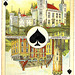 Dutch playing cards from 1920-1927: Ace of Spades