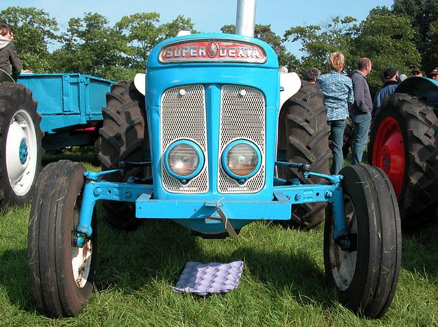Oldtimer Day Ruinerwold: Super Dextra tractor