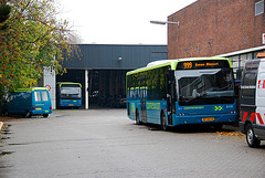 The bus depot in Leiden