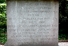 Text on the Manpad monument