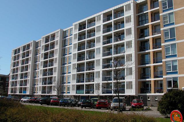 1960s Housing development in the Hague