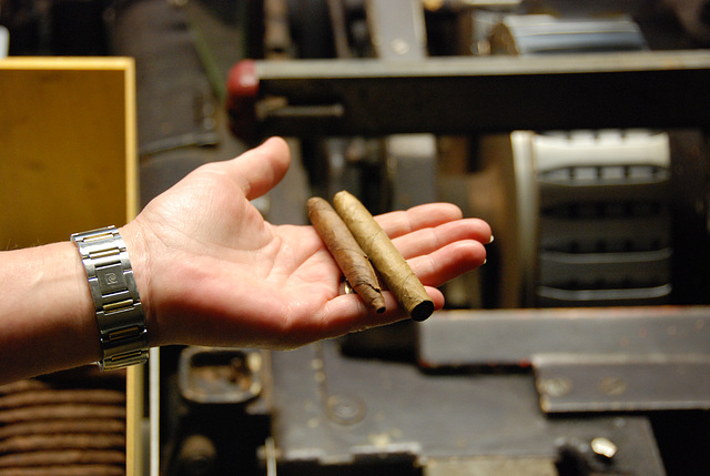 A visit to Kampen with my Mercedes Club: Dutch cigars