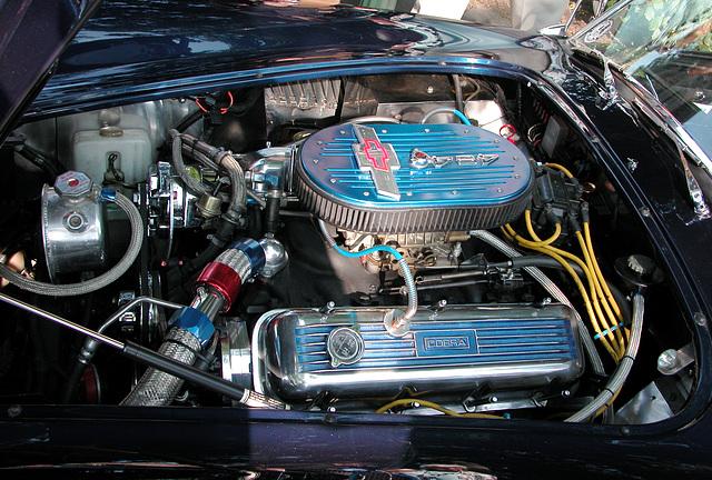 Oldtimer Day Ruinerwold: V8 1989 Dax Cobra Engine