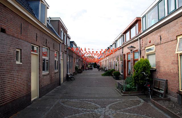 Bloemstraat (Flower Street) in Leiden