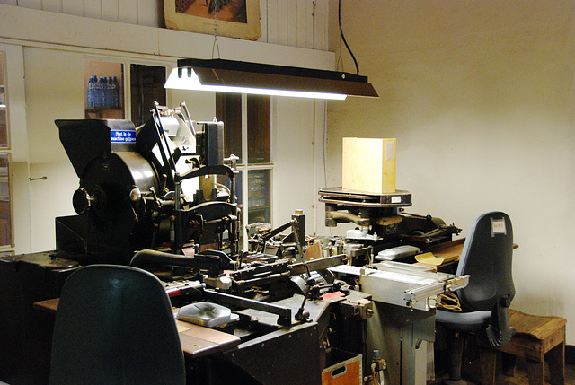 A visit to Kampen with my Mercedes Club: Cigar-making machine