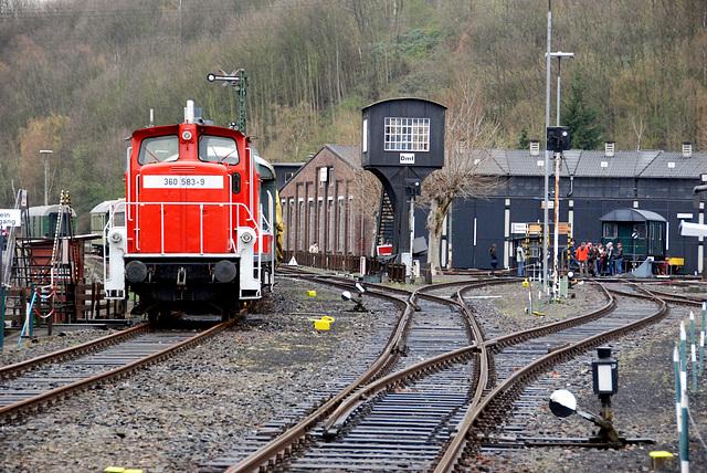 Railway museum Bochum-Dahlhausen