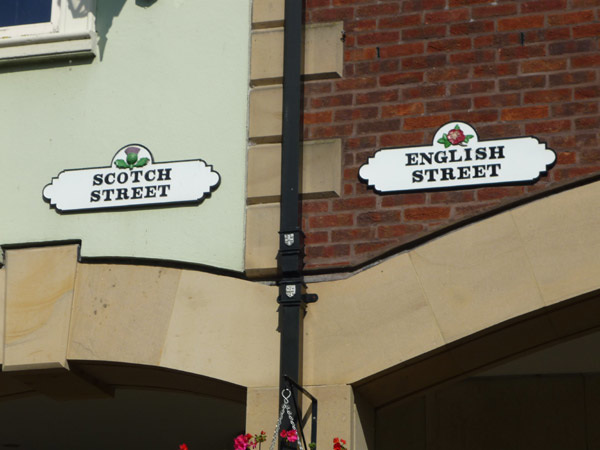 Scotch and English Streets