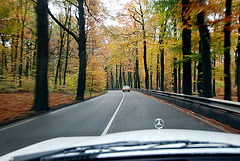 A visit to Kampen with my Mercedes Club: Autumn is upon us