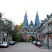 A visit to Kampen with my Mercedes Club: City gate of Kampen