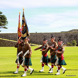 Parading the Colours - The Royal Regiment of Scotland 6109445325 o
