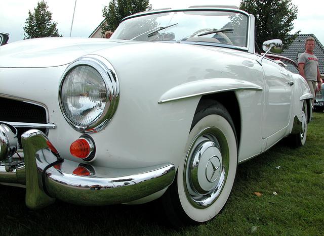 Oldtimer Day Ruinerwold: Mercedes-Benz 190 SL