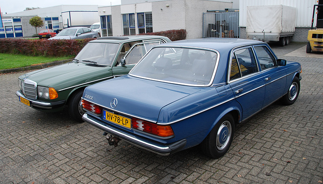 A visit to Kampen with my Mercedes Club