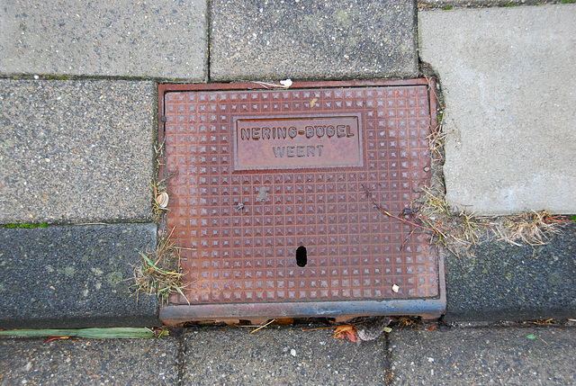 Drain cover of Nering Bögel of the post-1955 period