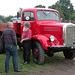 Oldtimer Day Ruinerwold: 1950 Mercedes-Benz 3500 truck